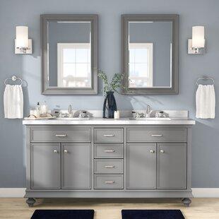 Weisner 72 Bathroom Vanity Set with Mirror by Alcott Hill