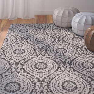 Summey Medallions Gray Indoor/Outdoor Area Rug By Mistana