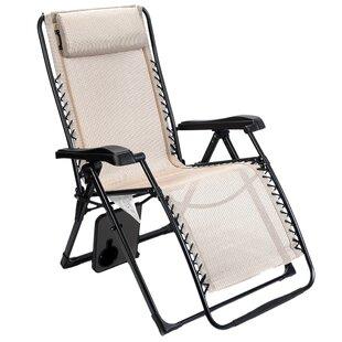 Widener Reclining Folding Zero Gravity Chair by Red Barrel Studio