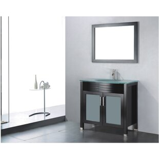 Order Adora 24 Single Bathroom Vanity Set with Mirror By Adornus