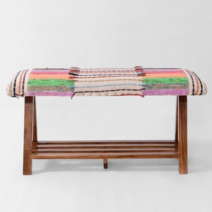 Bungalow Rose Churchill Upholstered Storage Bench