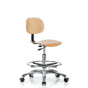 Low-Back Drafting Chair by Perch Chairs & Stools Great Reviews