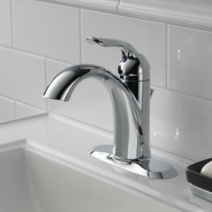 Lahara Single Hole Single Handle Bathroom Faucet With Drain Assembly And  Diamond Seal Technology