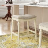 Abby Solid Wood 25 Counter Stool by Alcott Hill®