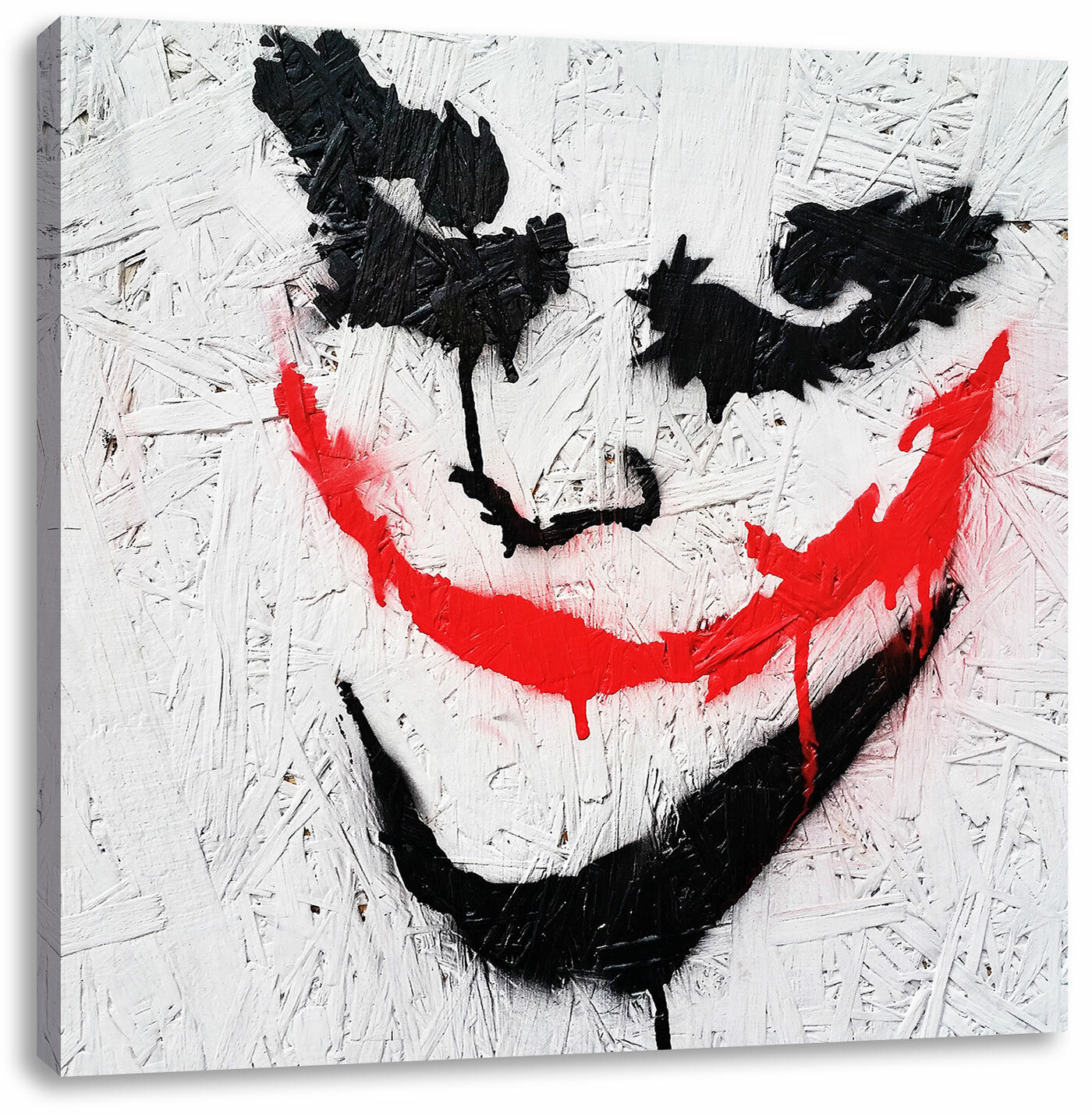 The Joker Art Print On Canvas