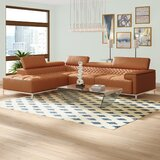 Right Arm Leather Sectional Wayfair