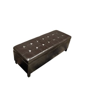 Faux Leather Storage Bench by Warehouse of Tiffany
