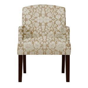 Keisha Beige Arm Chair by Darby Home Co