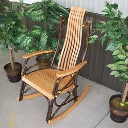 Woodacre Hickory Rocking Chair