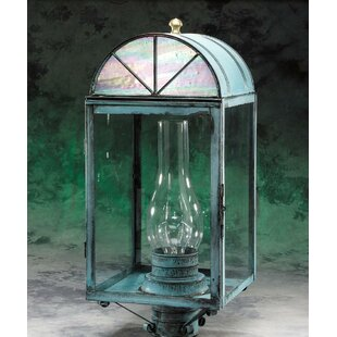 Great Price Elica 1-Light Post Lantern Head By Darby Home Co