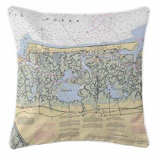 Ellisburg Stone Harbor, NJ Throw Pillow