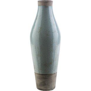 Evry Light Gray Ceramic Table Vase