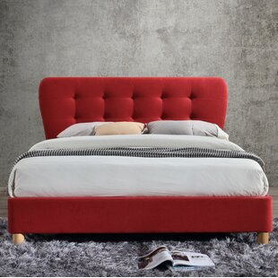 Aghavary Upholstered Bed Frame By George Oliver