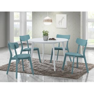 Tre 5 Piece Dining Set Ebern Designs