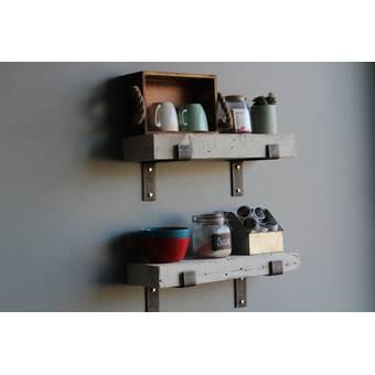 Orren Ellis Justinich Contemporary Wall Shelf
