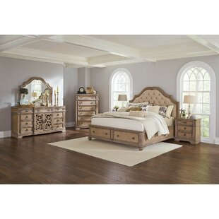 George Upholstered Platform Bed