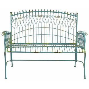 Durst Metal Garden Bench by Bungalow Rose