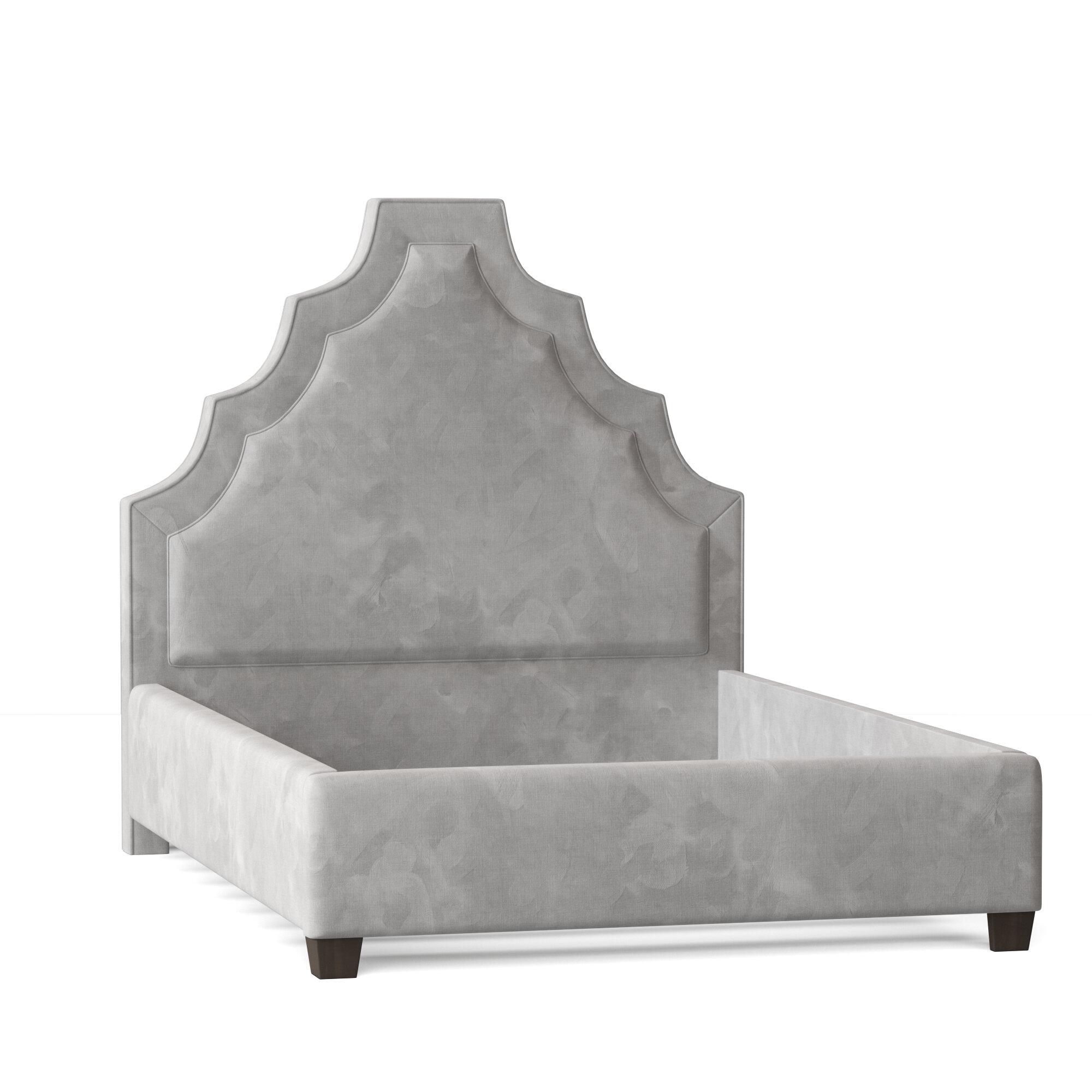 My Chic Nest Lexi Upholstered Platform Bed Wayfair