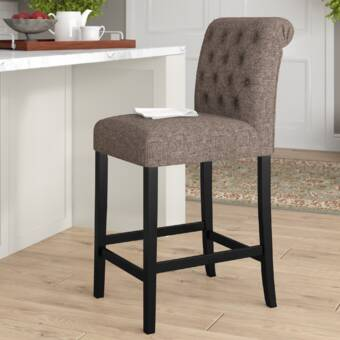 Bar Stools Set Of 2 Pu Leather Kitchen Bar Stool White Can Be Repeatedly Remolded.