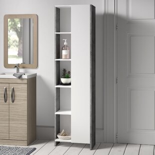 50 X 180cm Free Standing Tall Bathroom Cabinet By Mercury Row