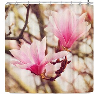 AFE Images Magnolias Single Shower Curtain