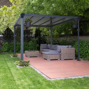 Milano 10 Ft. W X 10 Ft. D Metal Permanent Gazebo