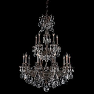 Sophia 15-Light Chandelier by Schonbek