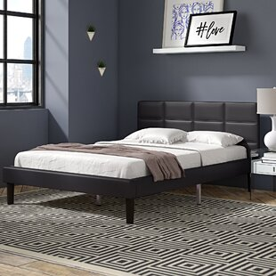 Armstead Upholstered Platform Bed by Ebern Designs
