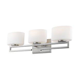 Orren Ellis Ford 3-Light LED Vanity Light