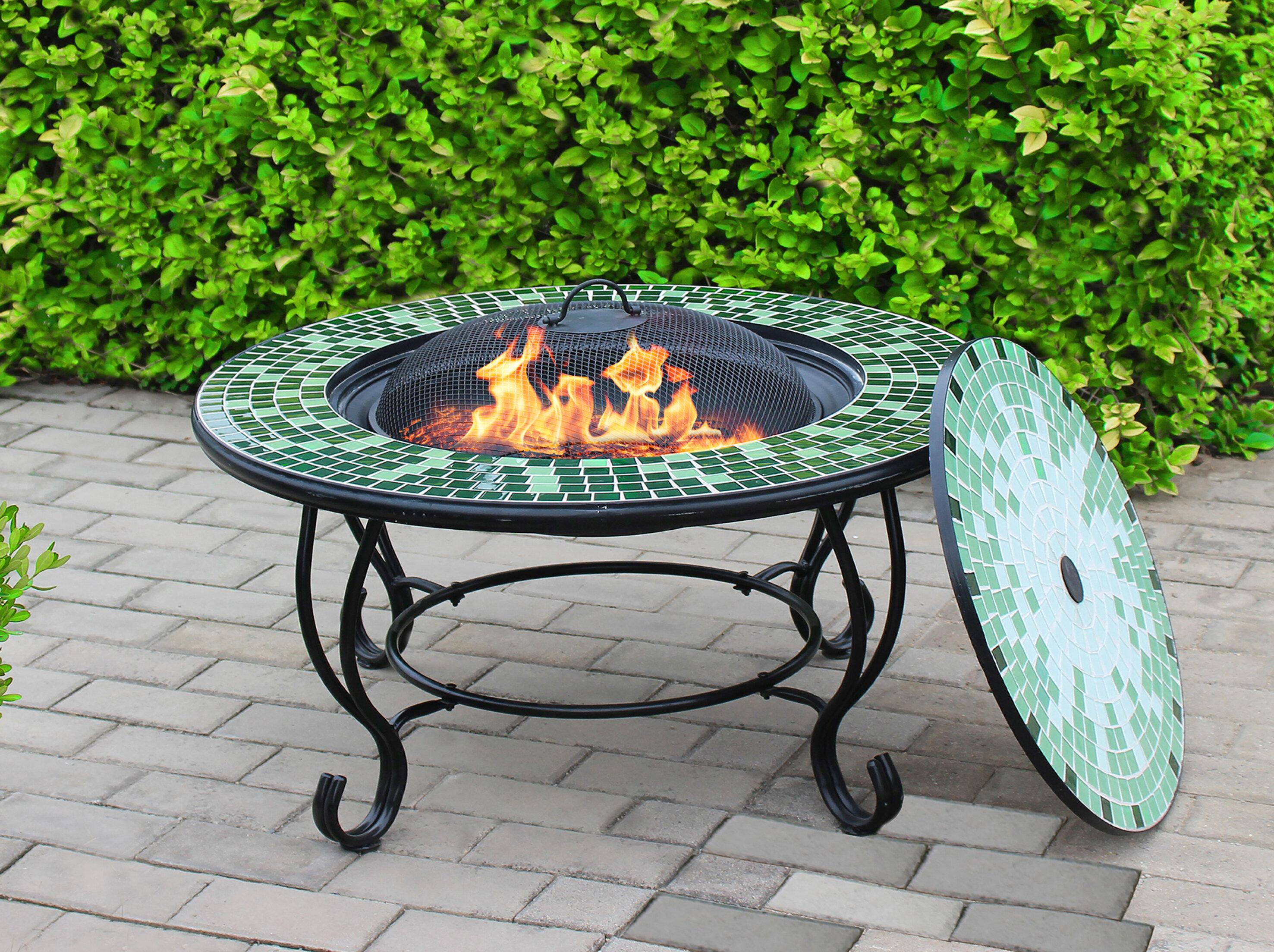 Barbecue Grill Tisch Guss Aluminium Hof Garten Freizeit BBQ