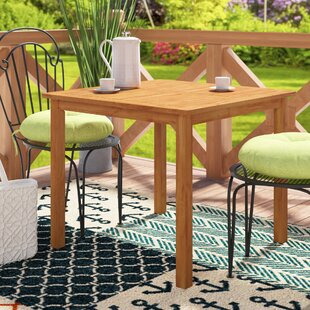 PHI VILLA 32 in Cast Aluminum Patio Outdoor Bistro Round Dining Table with Frosted Surface