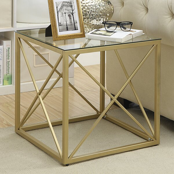 Square Cube End Table | Wayfair