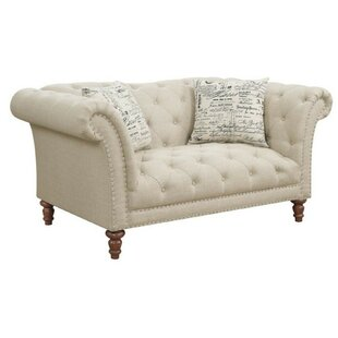 Tab Chesterfield Loveseat