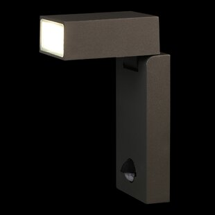 Rubinstein LED Outdoor Sconce With Motion Sensor By Sol 72 Outdoor