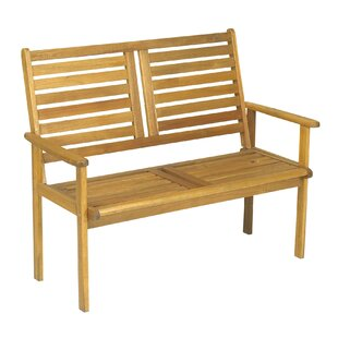 Dollar Wooden Bench By Natur Pur