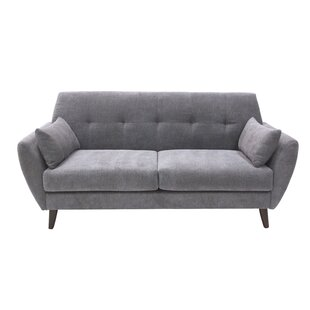 Alsacia Mid-Century Modern Loveseat by Turn on the Brights