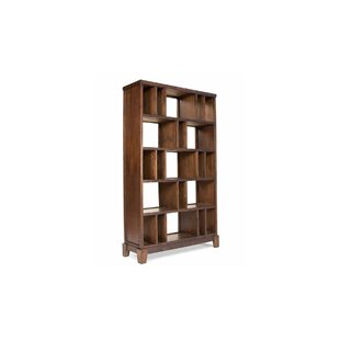 Cranleigh Geometric Bookcase by Loon Peak Great price