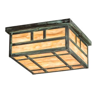 Bloomsbury Market Almont Square 4-Light Flush Mount