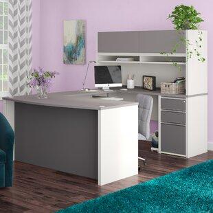 Latitude Run Karla 2 Piece U-shaped Desk Office Suite