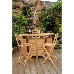 Altavista Teak 3 Piece Bar Set by Anderson Teak