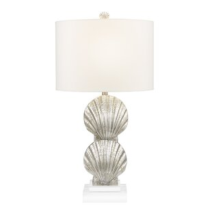 Collinsworth Double-Stacked Shell 30 Table Lamp