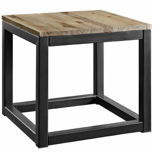 Melville Frame End Table by 17 Stories