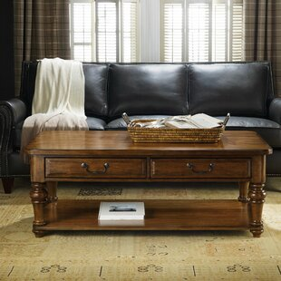 Tynecastle Coffee Table with Storage Hooker Furniture