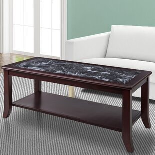 Marble Granite Top Coffee Tables You Ll Love Wayfair