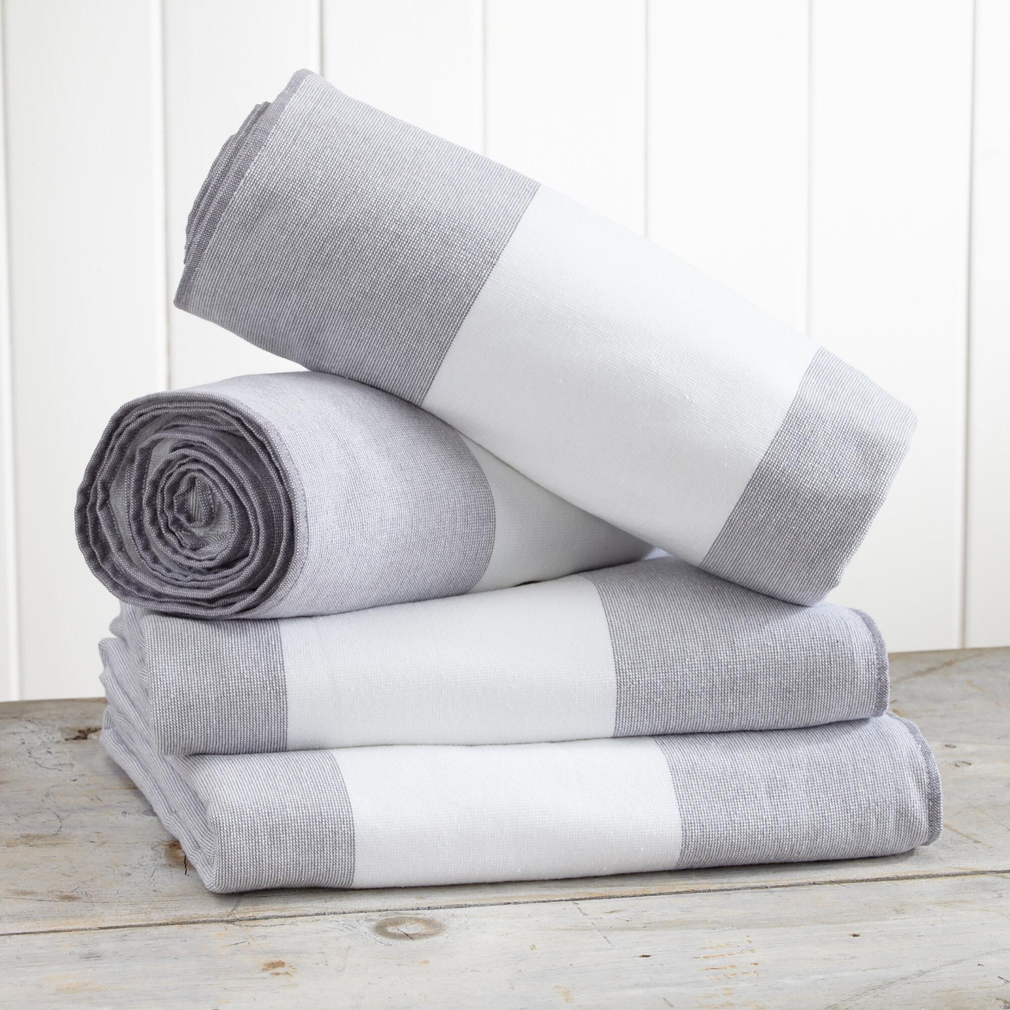 100 Cotton Beach Towel Set