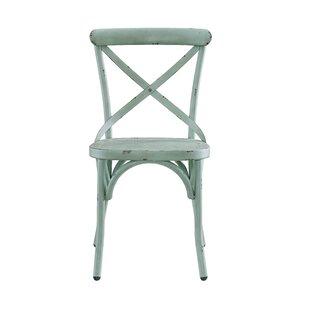 Bendigo Distressed Antique Metal Dining Chair