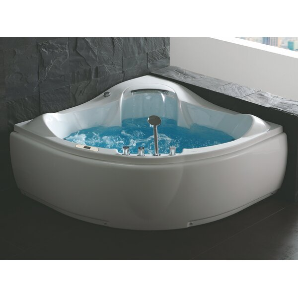 Extra Deep Corner Tub | Wayfair
