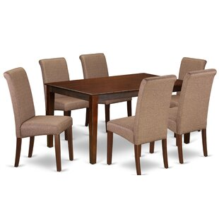 Brandi Kitchen Table 7 Piece Solid Wood D..