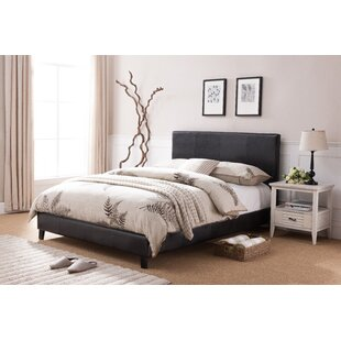 Harrow Queen Uphlostered Panel Bed by Wrought Studio