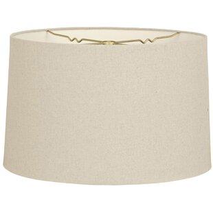 10 Shantung Drum Lamp Shade
